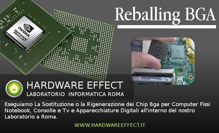 Sostituzione Reballing Chip BGA Scheda Video E NorthBridge.