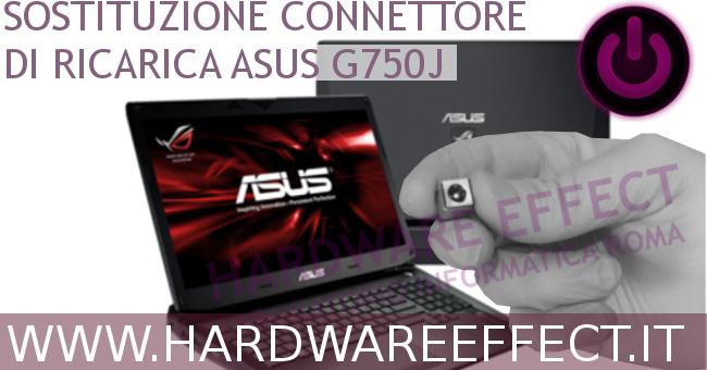 Asus G750J connettore di ricarica